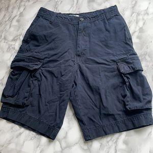 Midtown Cargo Shorts - Navy Men's 28-30